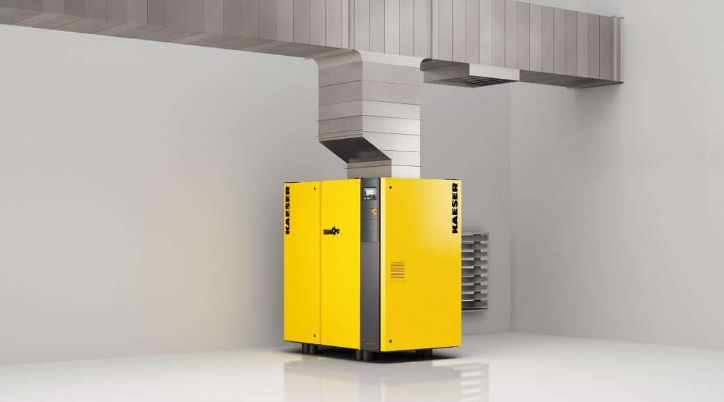 Compressed air, heat recovery, KAESER Compressors